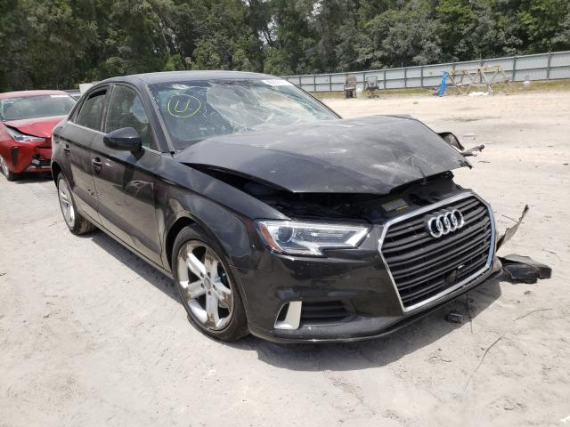 Salvage cars for sale from Copart Ocala, FL: 2018 Audi A3 Premium