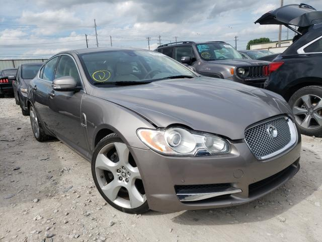 Salvage cars for sale from Copart Haslet, TX: 2009 Jaguar XF Superch