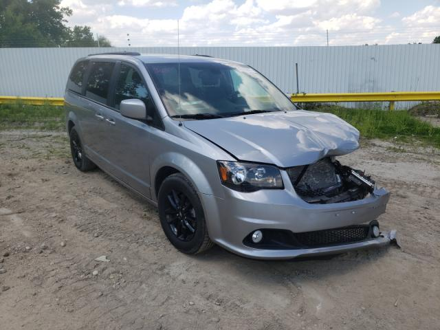 Salvage cars for sale from Copart Madison, WI: 2019 Dodge Grand Caravan