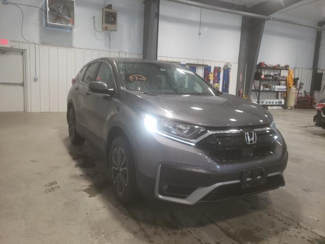 Salvage cars for sale from Copart Lumberton, NC: 2020 Honda CR-V EX
