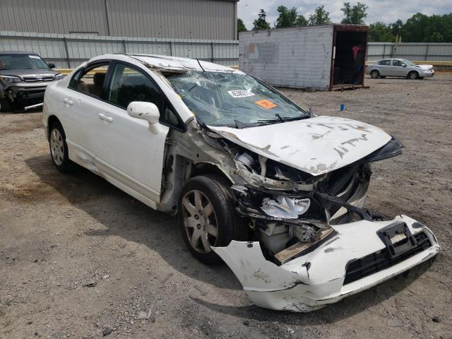 Salvage cars for sale from Copart Chatham, VA: 2008 Honda Civic LX