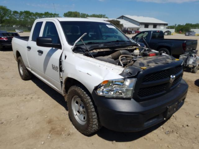 Salvage cars for sale from Copart Madison, WI: 2016 Dodge RAM 1500 ST