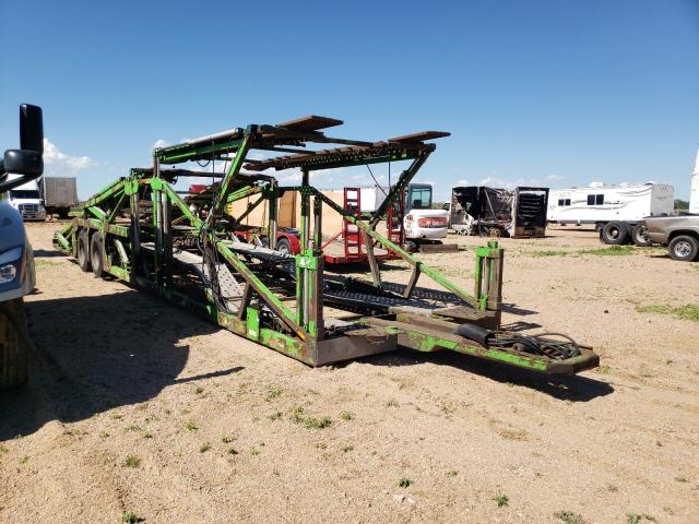 Salvage cars for sale from Copart Colorado Springs, CO: 2002 JM Car Hauler