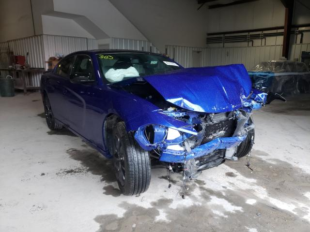 Salvage cars for sale from Copart Ellwood City, PA: 2020 Dodge Charger SX