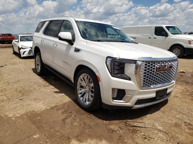 Salvage cars for sale from Copart Amarillo, TX: 2021 GMC Yukon Dena