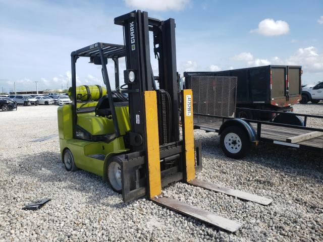 Salvage cars for sale from Copart Homestead, FL: 2005 Clark Forklift Forklift