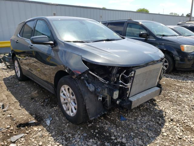 Salvage cars for sale from Copart Cudahy, WI: 2019 Chevrolet Equinox LT