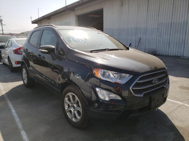 Vehiculos salvage en venta de Copart Sun Valley, CA: 2020 Ford Ecosport S