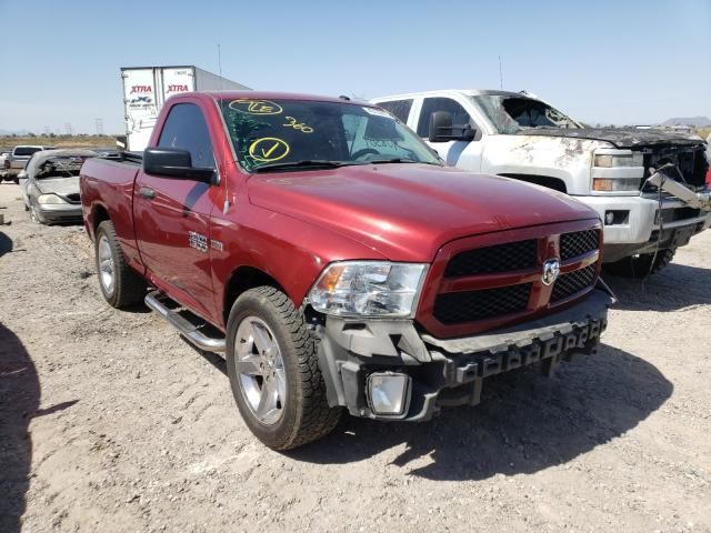 Salvage cars for sale from Copart Tucson, AZ: 2013 Dodge RAM 1500 ST