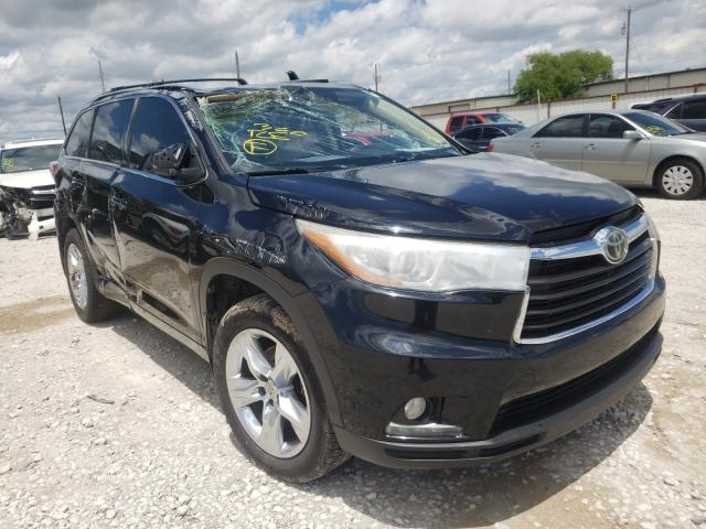 Salvage cars for sale from Copart Haslet, TX: 2015 Toyota Highlander