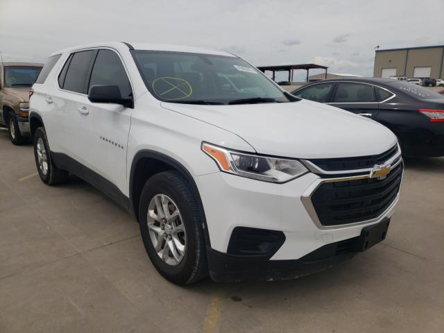 Salvage cars for sale from Copart Wilmer, TX: 2020 Chevrolet Traverse L