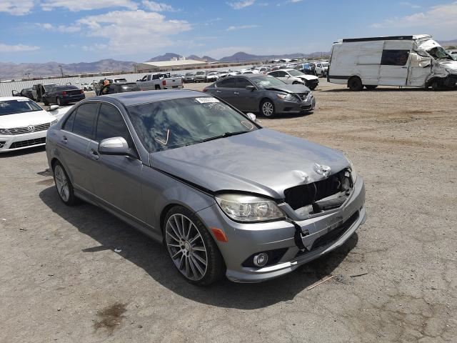 Salvage cars for sale at Las Vegas, NV auction: 2009 Mercedes-Benz C300