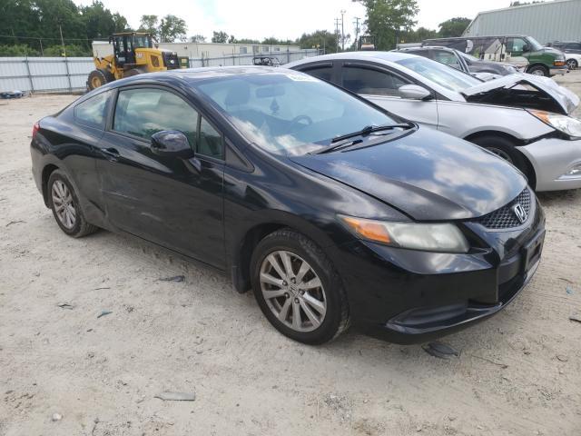 Salvage cars for sale from Copart Hampton, VA: 2012 Honda Civic EX