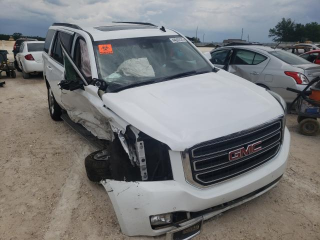 Salvage cars for sale from Copart Newton, AL: 2015 GMC Yukon SLT