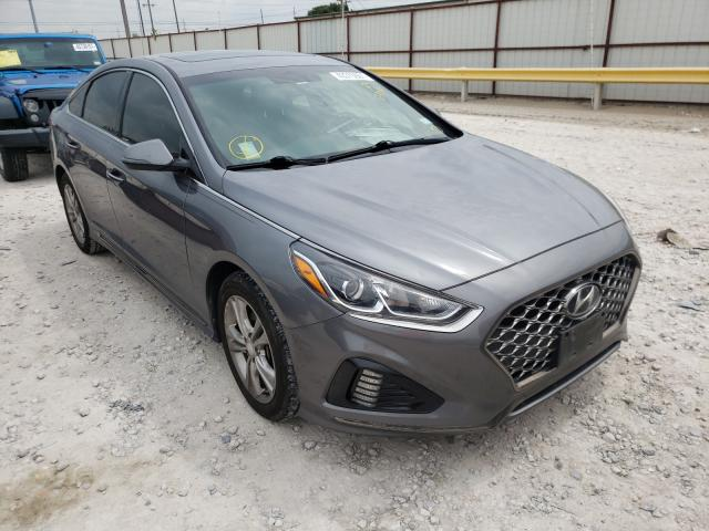 Salvage cars for sale from Copart Haslet, TX: 2018 Hyundai Sonata Sport