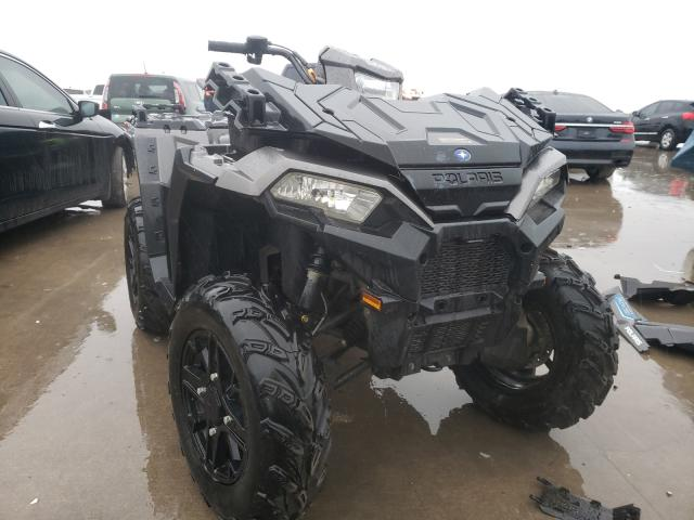 Salvage cars for sale from Copart Wilmer, TX: 2017 Polaris Sportsman