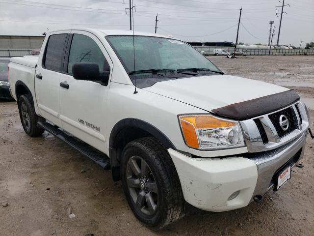 Salvage cars for sale from Copart Columbus, OH: 2015 Nissan Titan S