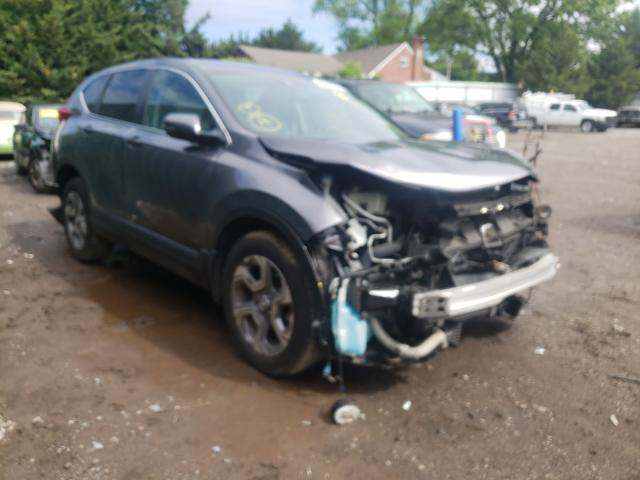 Salvage cars for sale from Copart Finksburg, MD: 2019 Honda CR-V EXL