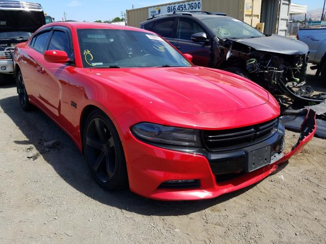 Salvage cars for sale from Copart San Martin, CA: 2016 Dodge Charger R