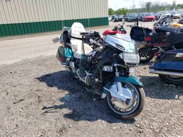 Salvage cars for sale from Copart Angola, NY: 1996 Honda GL1500 A/2