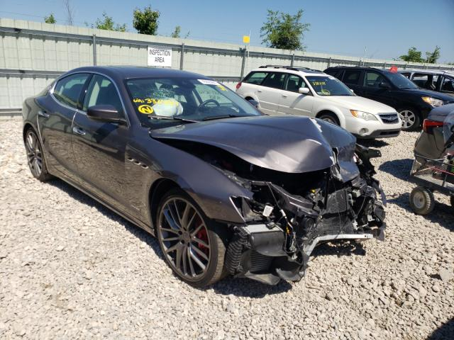 Maserati salvage cars for sale: 2019 Maserati Ghibli S