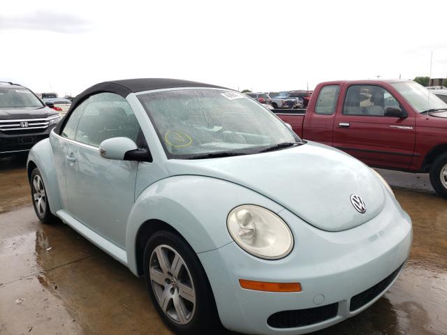 Vehiculos salvage en venta de Copart Grand Prairie, TX: 2006 Volkswagen New Beetle