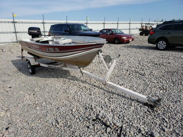 Salvage cars for sale from Copart Appleton, WI: 1993 Northwood Boat