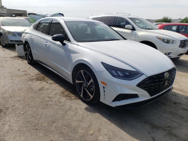 2021 Hyundai Sonata SEL en venta en Tulsa, OK