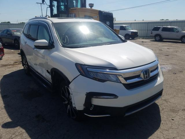 Salvage cars for sale from Copart Dyer, IN: 2019 Honda Pilot Touring