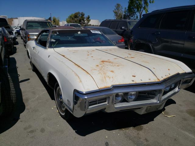 Salvage cars for sale from Copart Martinez, CA: 1969 Buick Riviera