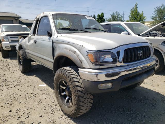 Salvage cars for sale from Copart Eugene, OR: 2002 Toyota Tacoma XTR