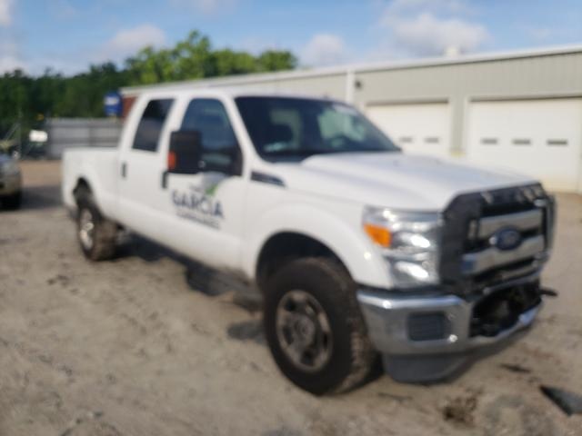 Salvage cars for sale from Copart Hampton, VA: 2015 Ford F250 Super