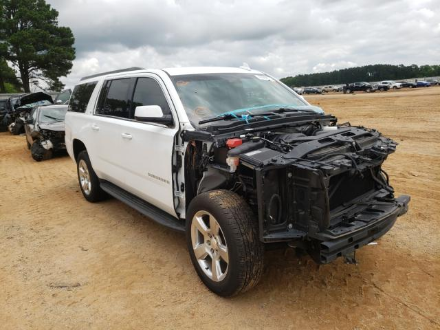 Salvage cars for sale from Copart Longview, TX: 2016 Chevrolet Suburban C