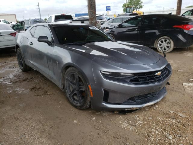 Salvage cars for sale from Copart Temple, TX: 2019 Chevrolet Camaro LS