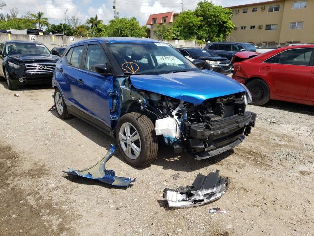 Salvage cars for sale from Copart Opa Locka, FL: 2021 Nissan Kicks S