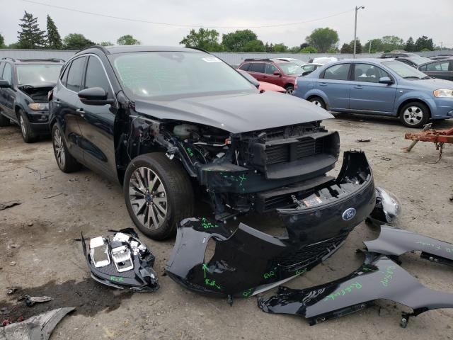 Salvage cars for sale from Copart Cudahy, WI: 2020 Ford Escape Titanium
