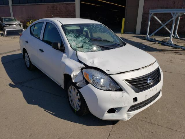 Salvage cars for sale from Copart Wheeling, IL: 2013 Nissan Versa S