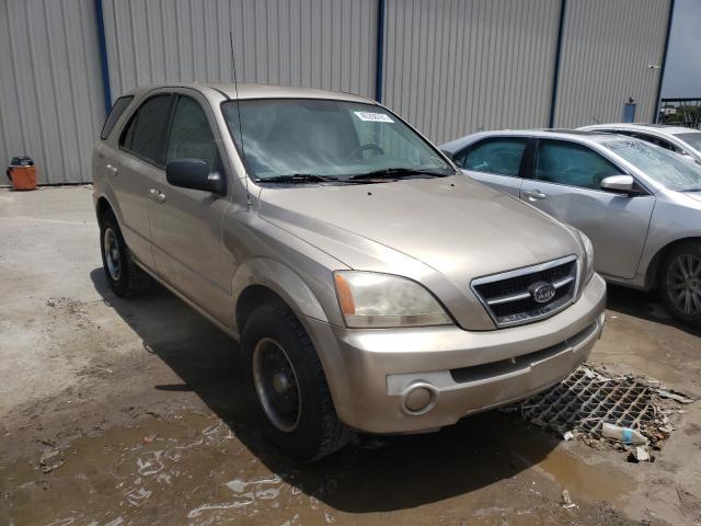 Salvage cars for sale from Copart Apopka, FL: 2004 KIA Sorento EX