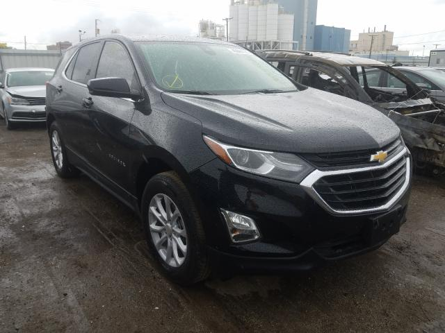 Salvage cars for sale from Copart Chicago Heights, IL: 2021 Chevrolet Equinox LT