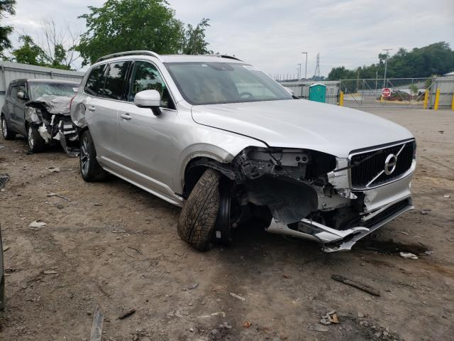 Salvage cars for sale from Copart West Mifflin, PA: 2019 Volvo XC90 T6 MO