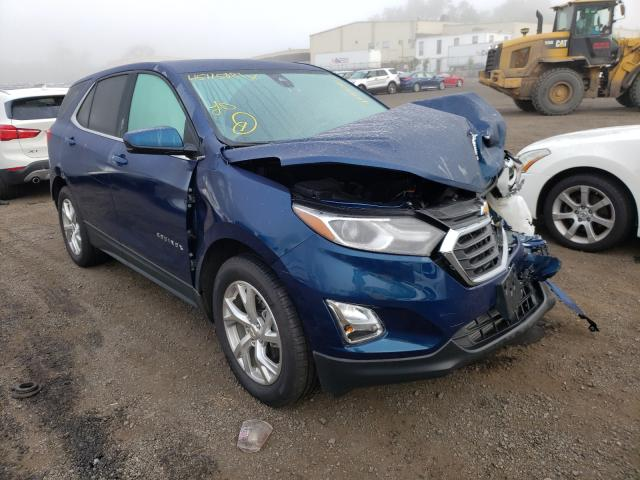 Salvage cars for sale from Copart New Britain, CT: 2020 Chevrolet Equinox LT