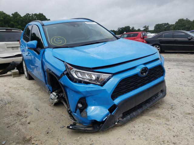 Salvage cars for sale from Copart Ocala, FL: 2021 Toyota Rav4 XLE