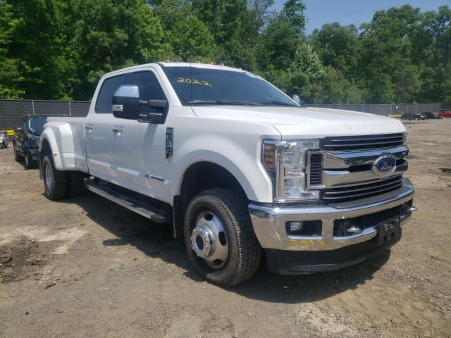 Salvage cars for sale from Copart Waldorf, MD: 2018 Ford F350 Super