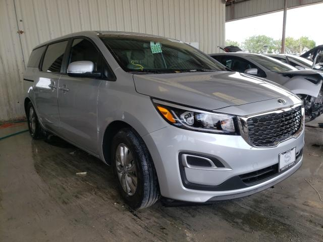 Salvage cars for sale from Copart Homestead, FL: 2019 KIA Sedona LX