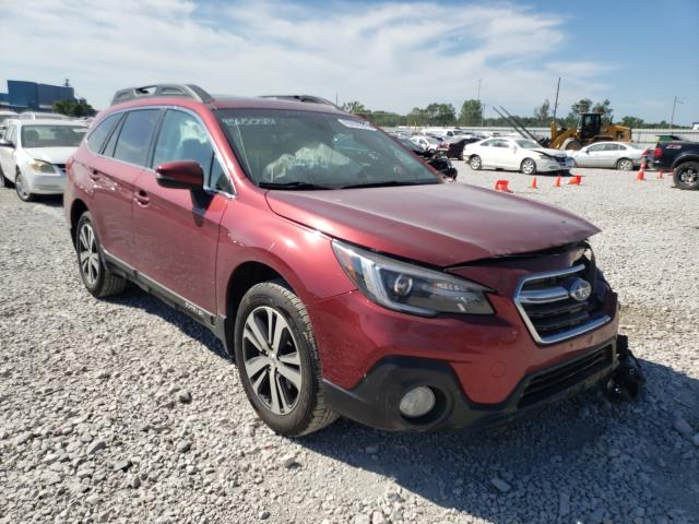 Salvage cars for sale from Copart Des Moines, IA: 2018 Subaru Outback 2