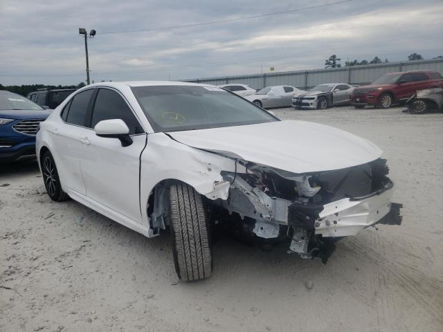 Toyota salvage cars for sale: 2021 Toyota Camry SE