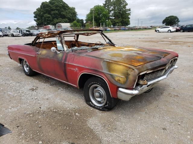 Chevrolet Impala salvage cars for sale: 1966 Chevrolet Impala