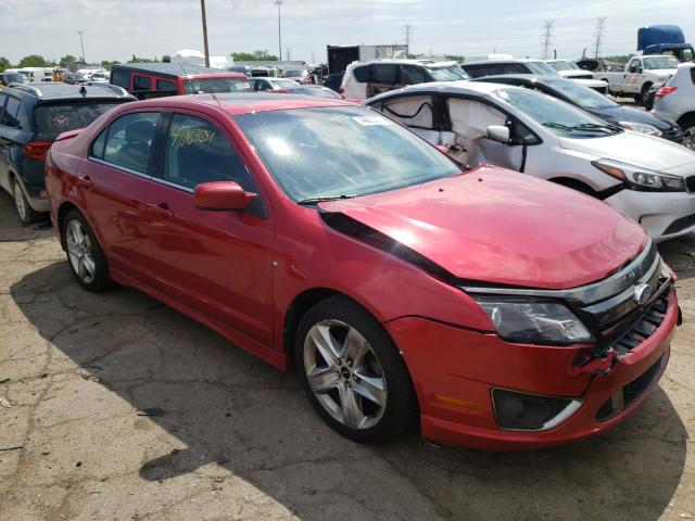Salvage 2012 FORD FUSION - Small image. Lot 44863251