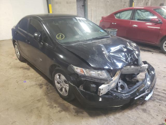 Salvage cars for sale from Copart Chalfont, PA: 2013 Honda Civic LX