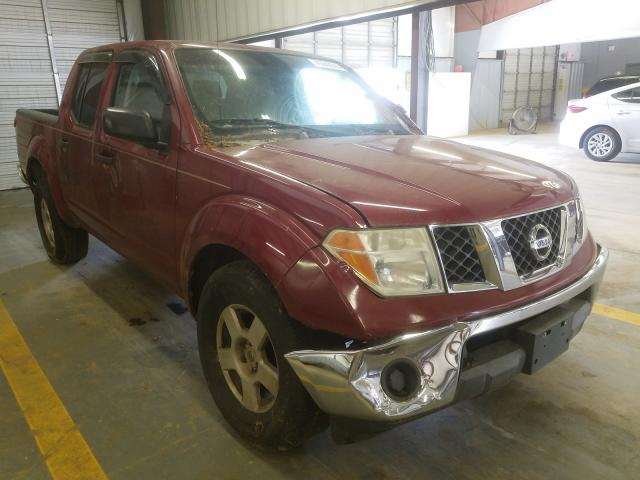 Salvage cars for sale from Copart Mocksville, NC: 2006 Nissan Frontier C